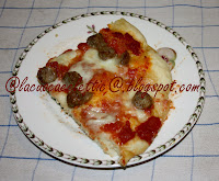 Pizza con la salsiccia