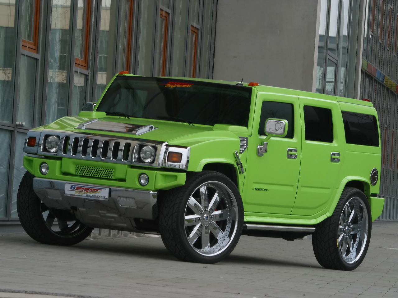 a thing for Hummer's but