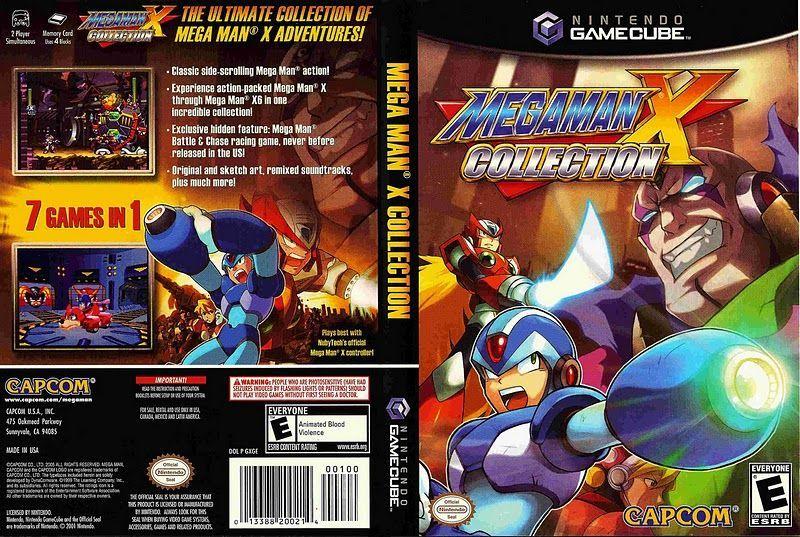 GC  Megaman X Collection NTSCjpg