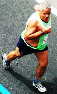 Mauro Martins a 1,2 Km da chegada
