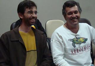 Mauri Palos e Sérgio Faria(d) - Vereadores