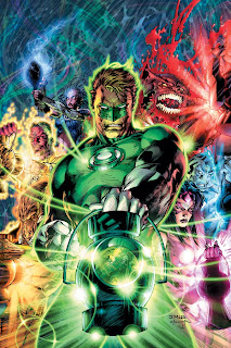Green Lantern 50-year variant cover
