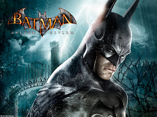 Batman: Arkham Asylum art