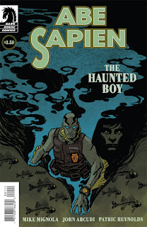 Abe Sapien: The Haunted Boy cover