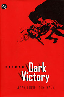 Jeph Loeb and Tim Sale Batman: Dark Victory cover
