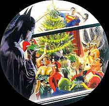 Justice League holiday cover