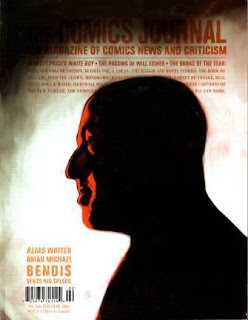 Comics Journal Brian Michael Bendis cover