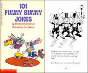 The first Scholastic, Inc. printing of 101 Funny Bunny Jokes which Don .