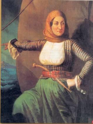 Παιδίον Τόπος: Γυναίκες της Επανάστασης του ΄21: Λασκαρίνα Μπουμπουλίνα, Μαντώ Μαυρογέννους, Δόμνα Βισβίζη