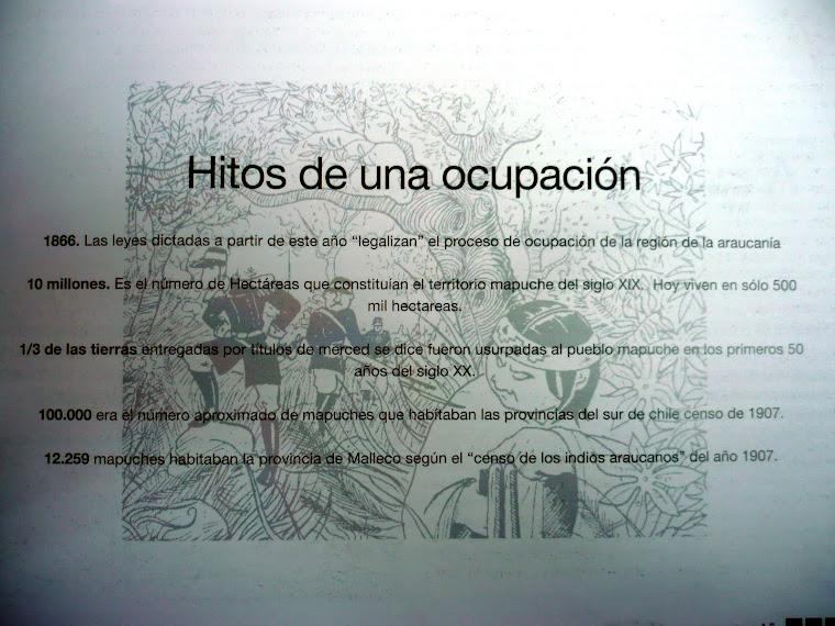EDUCACIÓN 5. ERCILLA. HITOS DE UNA OCUPACIÓN