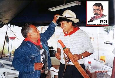 CUANDO LOS PALIACATES SE ENCUENTRAN: EVO MORALES Y NACHO DEL VALLE