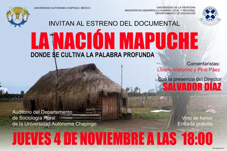 DEL WALLMAPU Y LA NACIÓN MAPUCHE A TEXCOCO SÓLO HAY LA LEVE DISTANCIA DE LOS PEWMA (SUEÑOS)