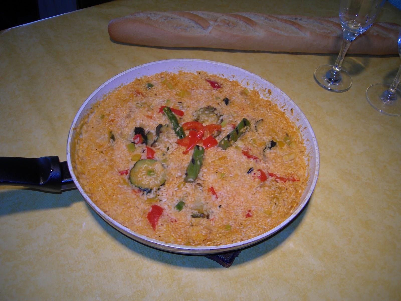 Come bien con ceeft arroz con bacalao y verduritas - Arroz con bacalao desmigado ...