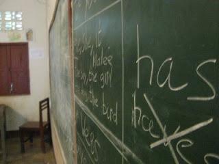 English Class in Laos