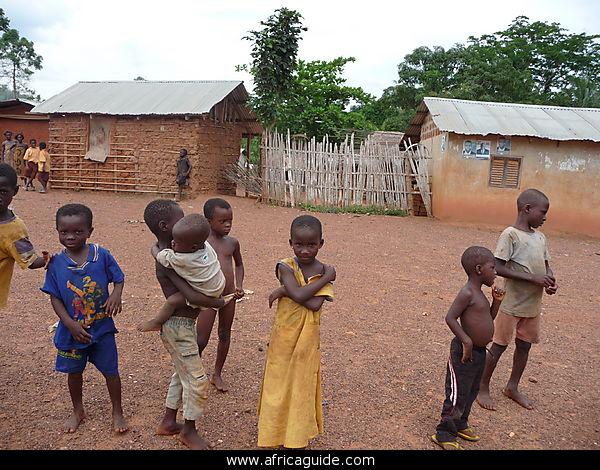 Aldeanos de Ghana