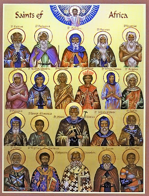 icone de tous les saints d'Afrique