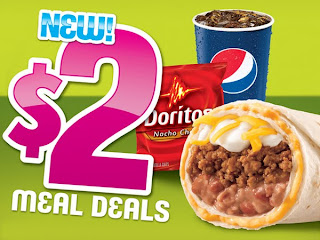 Taco Bell 2 Dollar Meal Deals