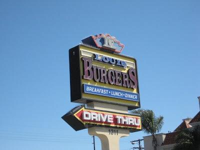 Louis Burger Marquee