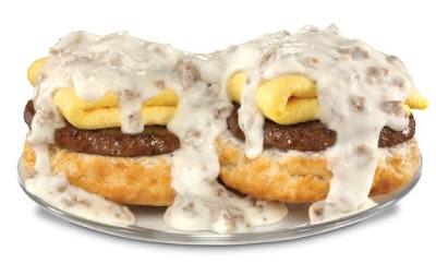 Hardee's Loaded Biscuit 'N' Gravy