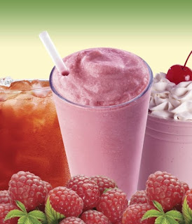 Jack in the Box's Raspberry Trio
