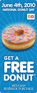 Dunkin Donuts National Donut Day - Free Donut