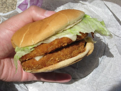Jack in the Box's Really Big Chicken Sandwich