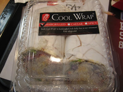 Chick-fil-A Cool Wrap in box