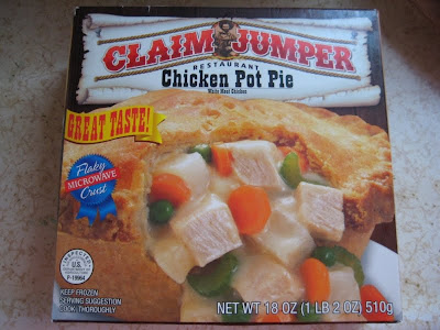 Claim Jumper Chicken Pot Pie box