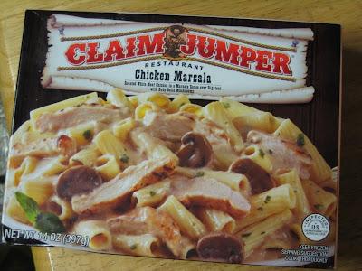 Claim Jumper Chicken Marsala box