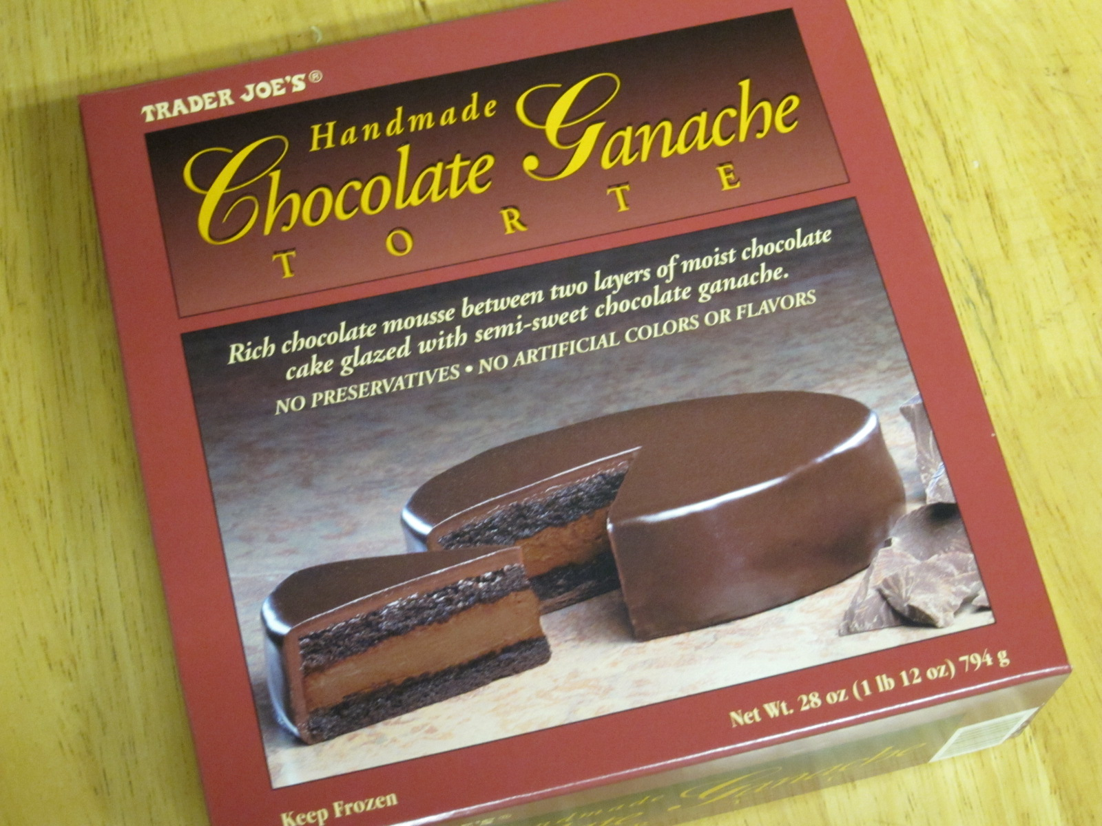 Trader Joe S Chocolate Ganache Torte Recipe