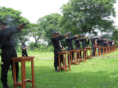 GBR.LATIHAN MENEMBAK DIKLAT SATPAM 88SS ANGK.XIII-GEL.2-2011