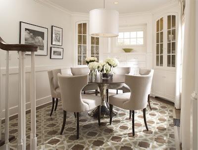 Hjemmets gleder: runde spisebord i 2 ulike stiler