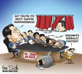 karikatur politik
