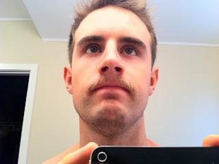 blonde scott dixon moustache costume nexopia mirror picture
