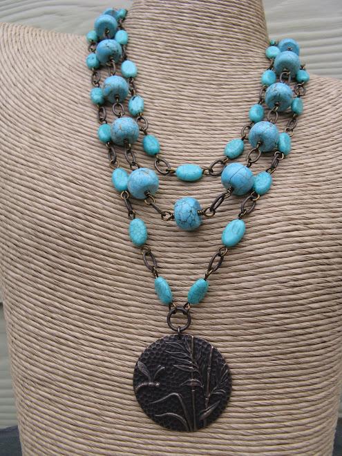 Turquoise Trio, Necklaces