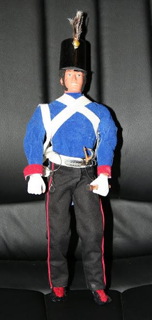 Soldado español época de Fernando VII