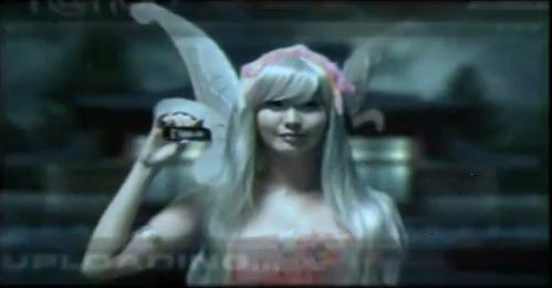 Cosplayer Alodia Gosiengfiao's Globe Tattoo Commercial