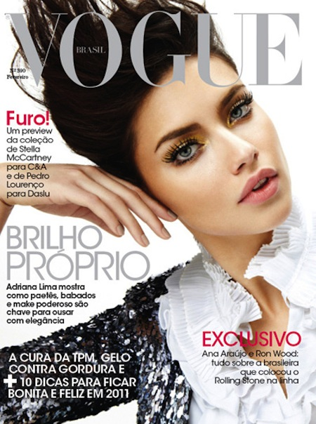 adriana lima 2011 photos. Gorgeous Adriana Lima Covers