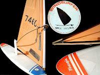 Planche à voile Windsurfer lancée en Europe par Pierre-Yves Gires et Carn