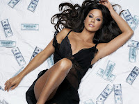 Brooke Burke in Sexy Fashion Supermodel Photo Shoot Session Wallpapers