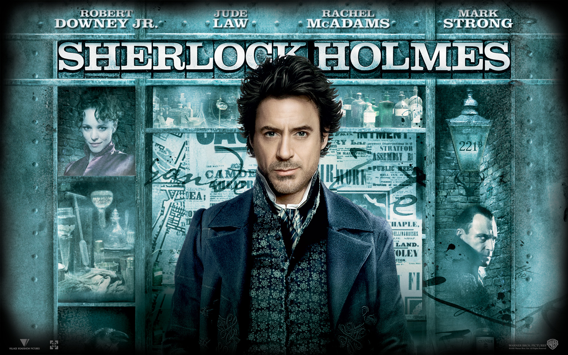 robert downey jr in sherlock holmes wallpapers - Robert Downey Jr in Sherlock Holmes 2 Wallpapers HD