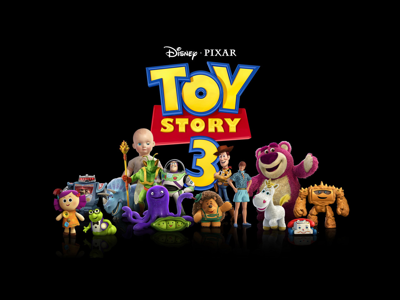 Wallpaper Toy Story 3