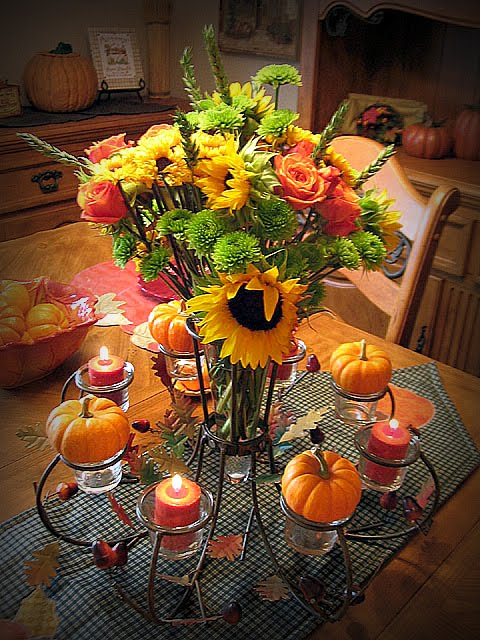 Cutest little things thanksgiving centerpiece