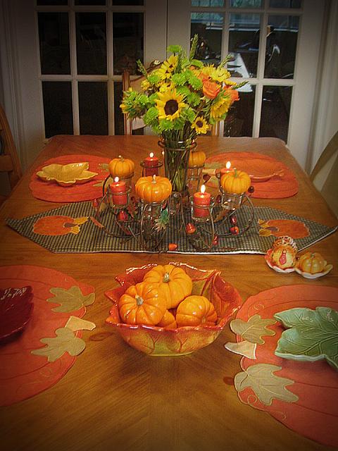 Cutest little things thanksgiving centerpiece