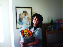 Jer got me flowers!!