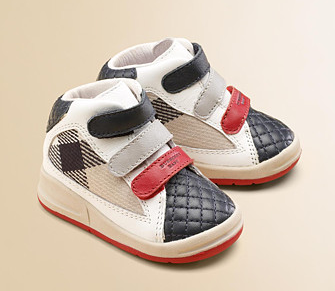 Designer Baby Burberry Baby Shoes