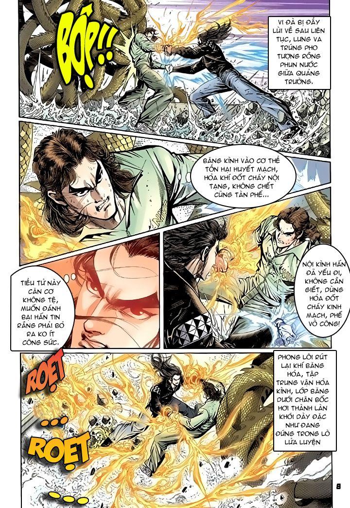 Tân Tác Long Hổ Môn chap 94 - Trang 8