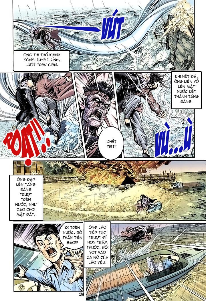 Tân Tác Long Hổ Môn chap 94 - Trang 34
