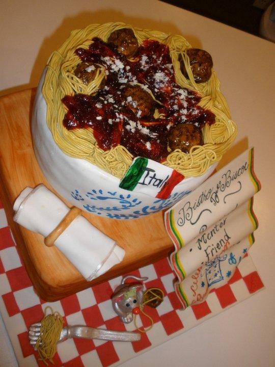 CakeDreams: Spaghetti Cake!