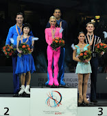 Podium Campeonato Europeo 2011